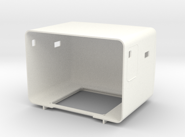 Pete Style 60 Inch Flattop in White Processed Versatile Plastic