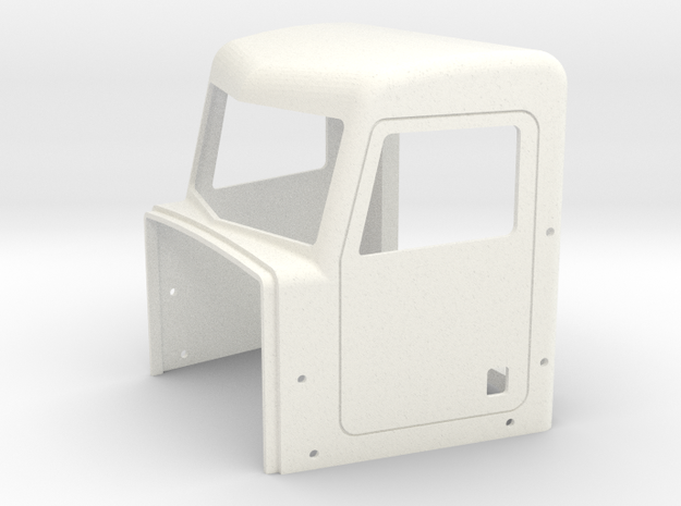 Pete Style Highrise Cab in White Processed Versatile Plastic