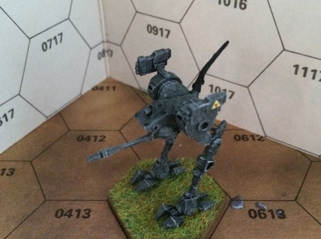 Locust-LCT-1V 3d printed Painted model. (The model you can order at shapeways is of course not painted!)