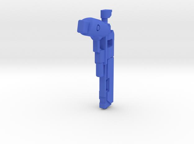 Invader in Blue Processed Versatile Plastic