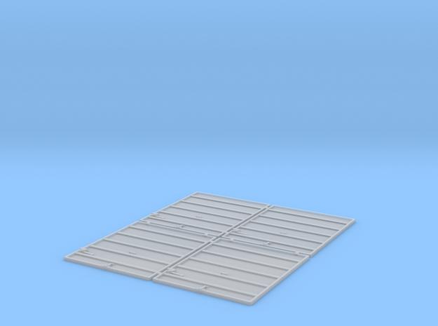 TT Scale 8' Superior Doors in Smooth Fine Detail Plastic