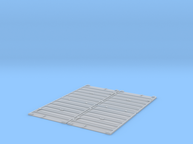 TT Scale 8' Pullman Doors in Smooth Fine Detail Plastic