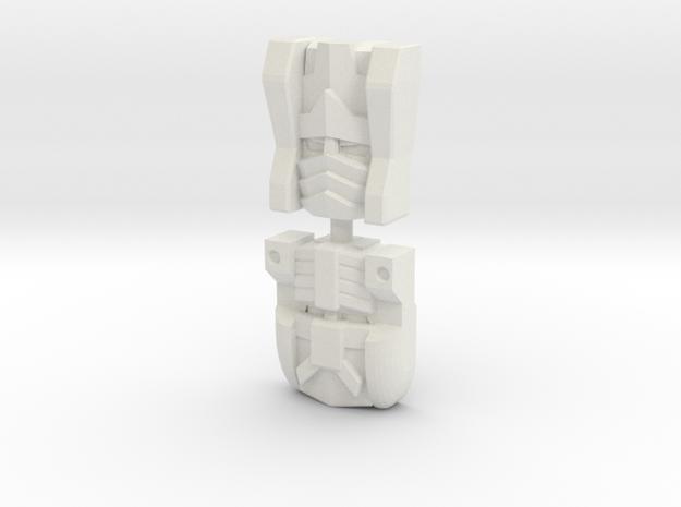 Sideways Face 2-Pack (Titans Return) in White Strong & Flexible