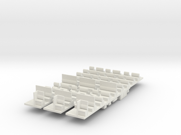 Tait Kit Chassis Set in White Natural Versatile Plastic