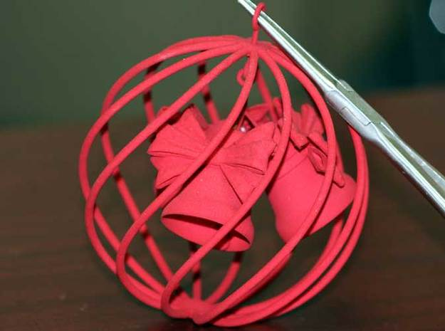 Christmas Bell 3d printed Bell in globe