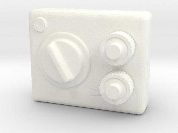 """Space Angel"" - Belt Buckle (1:6 Scale) in White Processed Versatile Plastic"