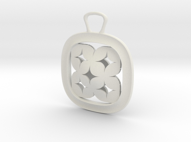 Square Stars Dual Traditional Bezel in White Strong & Flexible