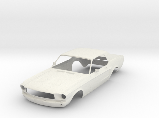 Ford Mustang GT '68 - KIT 01 in White Strong & Flexible