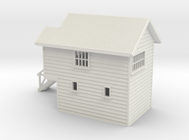 Signal Box Nz120 in White Natural Versatile Plastic