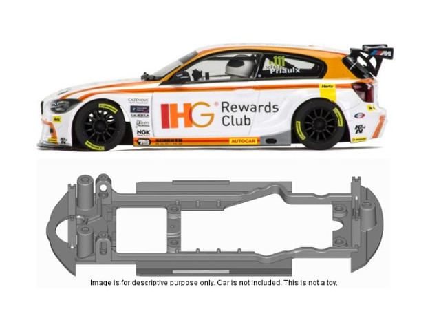 S13-ST4 Chassis for Scalextric BMW Z1 BTCC SSD/STD