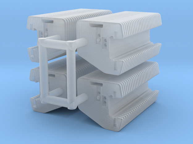 1/64 Front Weights 26 (4 sets) in Smooth Fine Detail Plastic