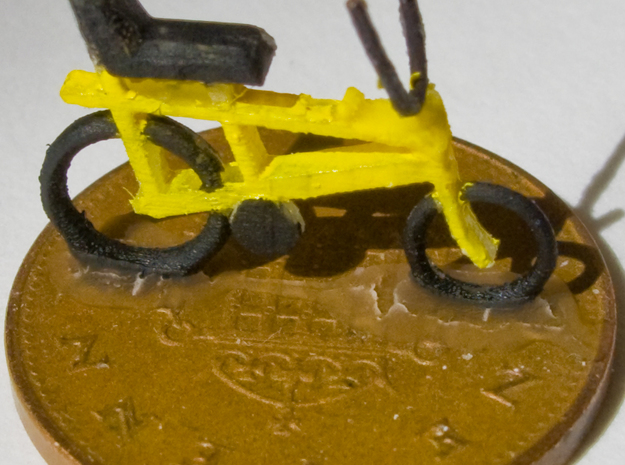 """OO (1:76) """"Chopper"""" bike 4 pack in Frosted Ultra Detail"""