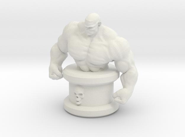 HeroesTCG Abominus Mini Bust in White Strong & Flexible