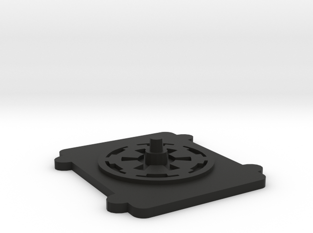 X-Wing miniatures Container Base in Black Strong & Flexible