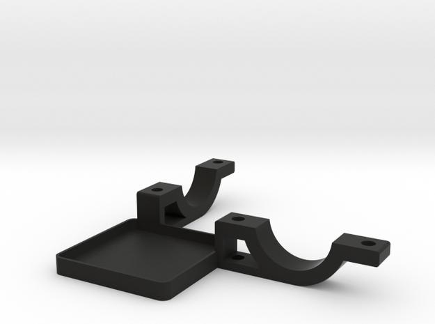 Handheld Stick Mount Bottom in Black Strong & Flexible