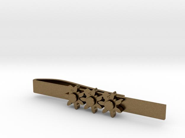 """Kinetic Gear Tie Clip (2.25"""" Bar)"""