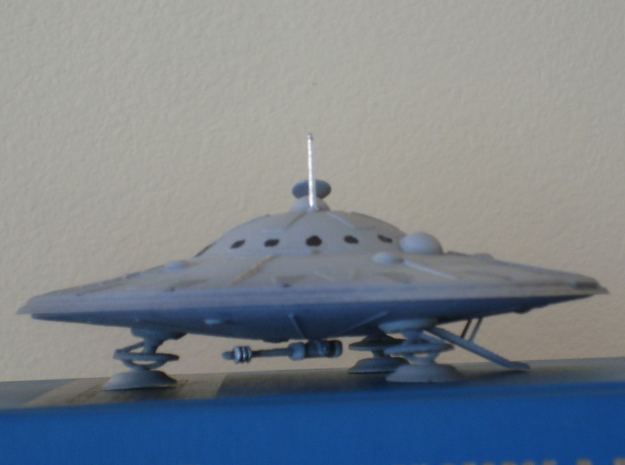 Dino-Hunter-Kit (5 inch diameter) 3d printed Dino Hunter Saucer