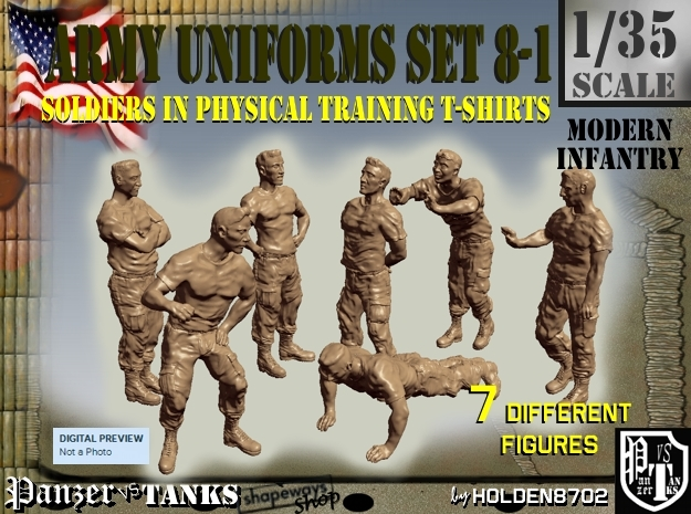 1-35 US Army Ph Tr SET 8-1 in Frosted Ultra Detail