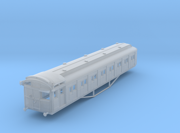 VR Tait D Car - Std Cab Cler Roof Blnk Win (254D) in Frosted Ultra Detail