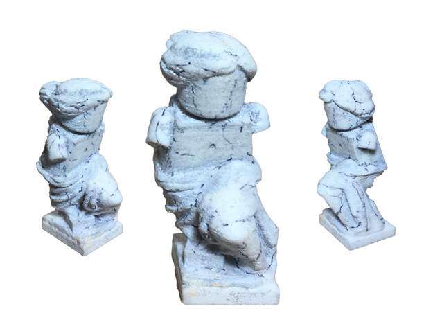 Venus De Milo Figure for Lego in White Natural Versatile Plastic