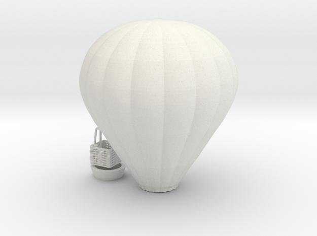 Hot Air Balloon - HOscale in White Natural Versatile Plastic