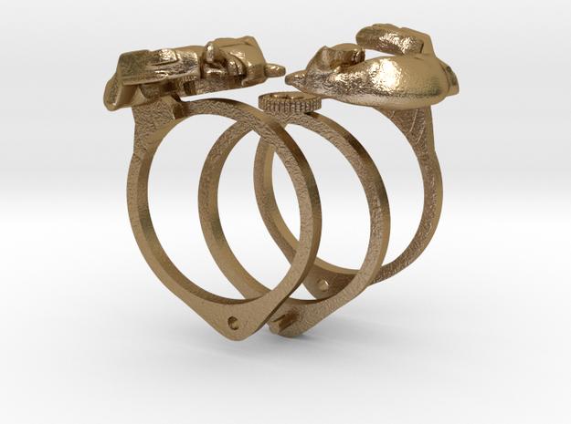 Fox Gimmal Ring
