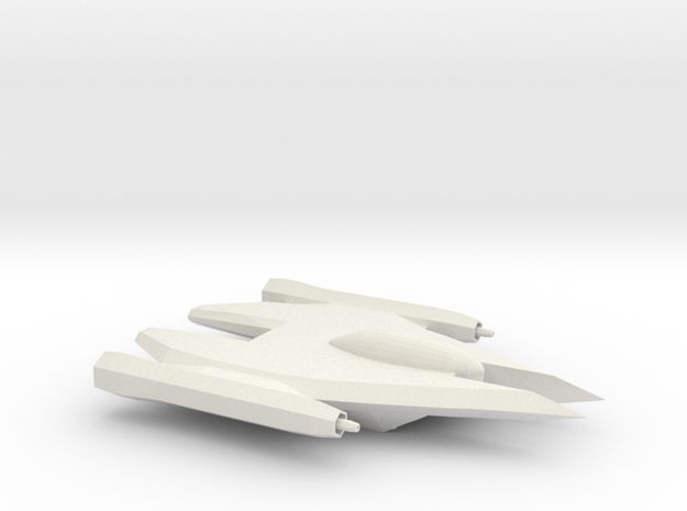 Xiolan Interceptor in White Natural Versatile Plastic