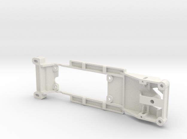INLINE Monogram '63 Galaxy, slot.it pod, 94mm in White Natural Versatile Plastic
