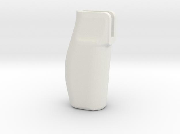 AR15 / CCI Phantom 86deg Pistol Grip in White Natural Versatile Plastic
