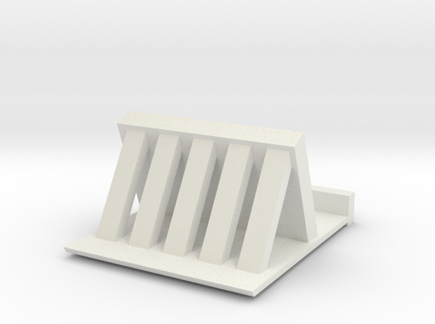 IPhone Stand in White Strong & Flexible: Medium