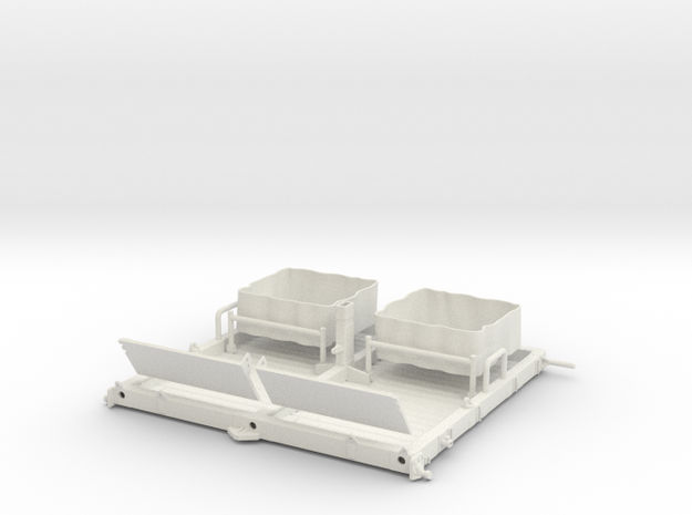 01A-LRV - Central Platform in White Strong & Flexible