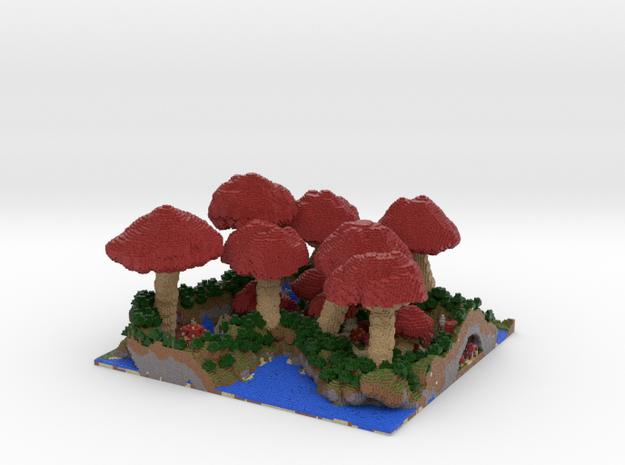 Mushroom Village 3d printed