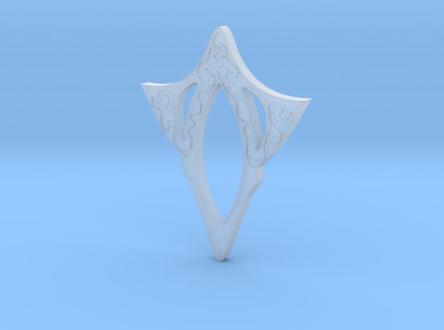 Venus pendant - engraved in Smoothest Fine Detail Plastic