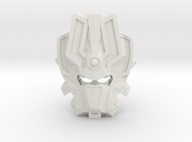 Mask Of Harmonics in White Natural Versatile Plastic