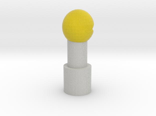 Pac-Man Pencil Topper in Full Color Sandstone