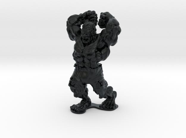 HULK in Black Hi-Def Acrylate