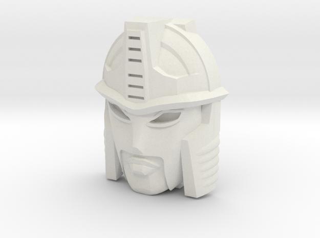 Blackarachnia, BW Face (Titans Return) in White Natural Versatile Plastic