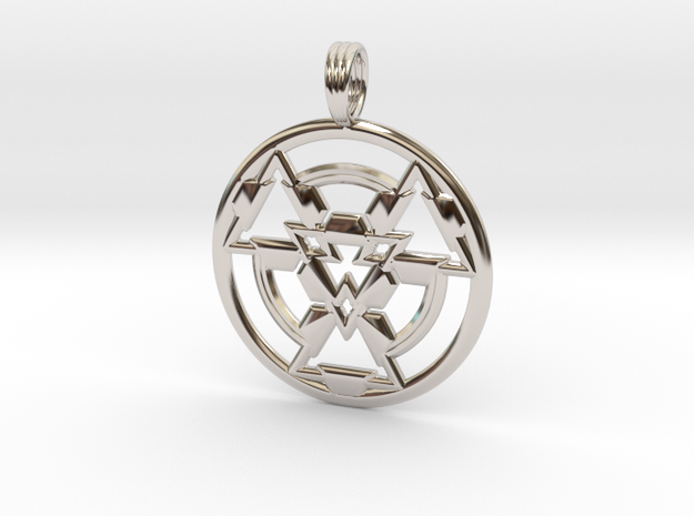 RE-AWAKEN in Rhodium Plated