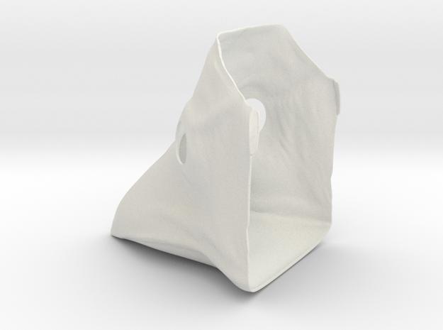Plauge Mask Thinner - Female in White Strong & Flexible