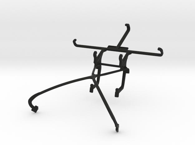 NVIDIA SHIELD 2014 controller & Lava X81 - Front R in Black Natural Versatile Plastic