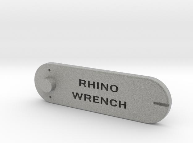 RHINO WRENCH W CENTROID in Metallic Plastic