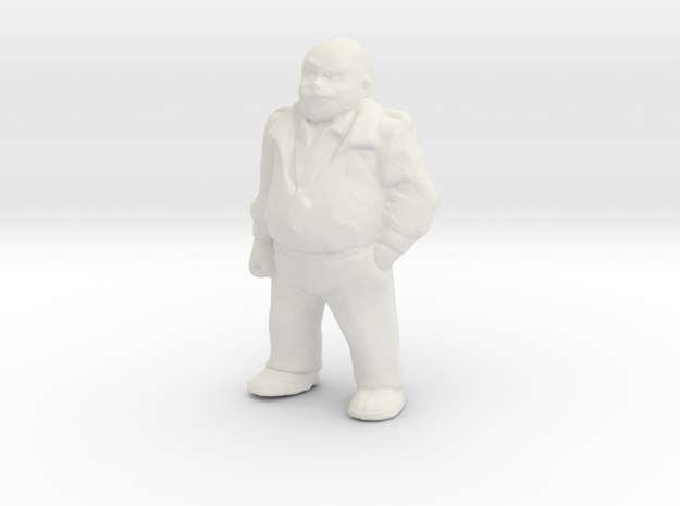 1/24 Crew Standing (Hollow Ver.) in White Natural Versatile Plastic