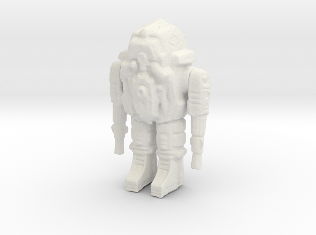 Space Combat Armor 1/87 3d printed