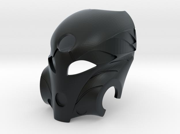 Kanohi Mask of Healing in Black Hi-Def Acrylate