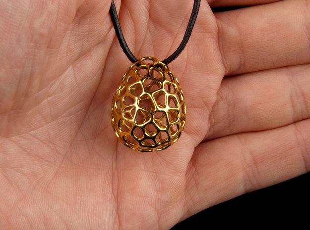 Dragon's Egg (from $12.50) in Polished Brass
