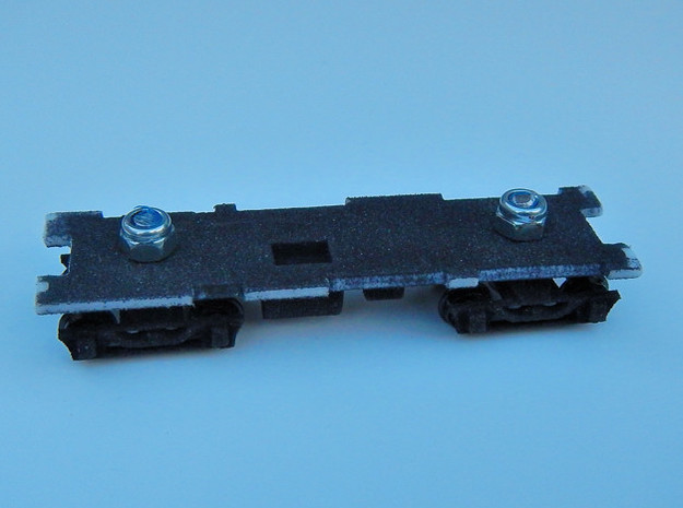 CNSM 455 - 456 Under Frame Trucks in Black Natural Versatile Plastic