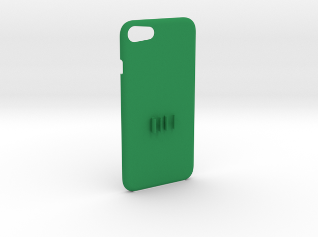 iPhone 7 Headphone Adapter Case in Green Processed Versatile Plastic