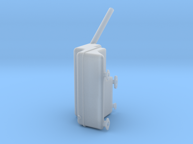 1/16 Maybach HL 120 TRM Oiltank in Smoothest Fine Detail Plastic