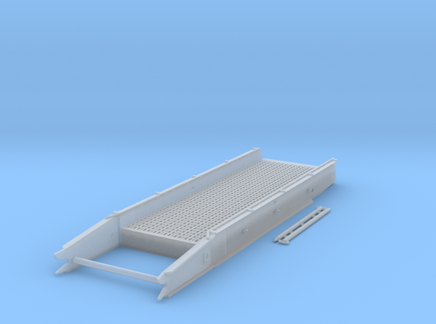 Treadway Bridge Section in Smooth Fine Detail Plastic