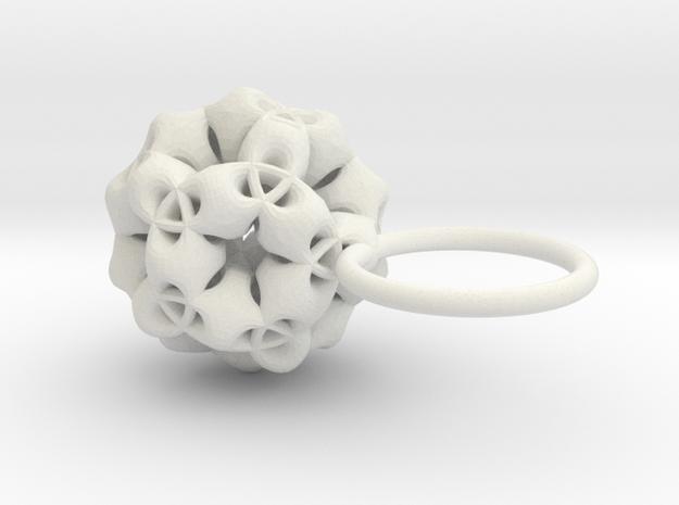 Olinda -Ring- in White Strong & Flexible